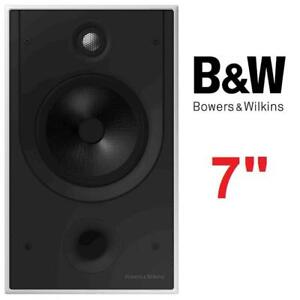 "NEW BOWERS WILKINS IN-WALL SPEAKER CWM8.5D 227522642 BOWERS AND WILKINS 7"" PASSIVE 2-WAY"