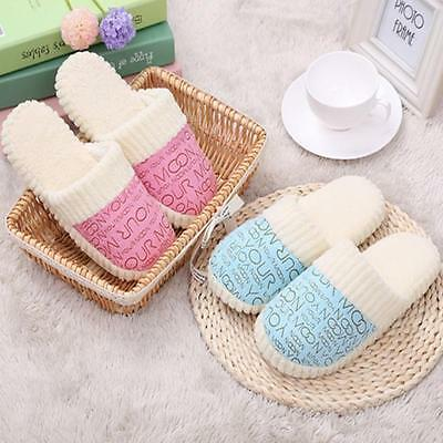 New Women Shoes Soft Warm Indoor Cotton Slippers Home Casual Anti-slip Shoes Hot
