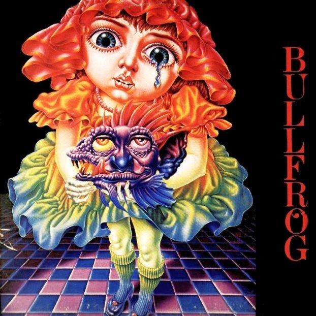 """Bullfrog:  """"S/T""""  (Digipak CD Reissue)"""