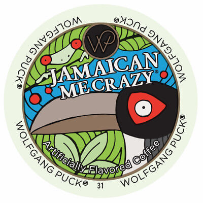 Wolfgang Puck K-Cup Portion Coffee for Keurig Brewers - Jamaican Me Crazy, 24 Ct