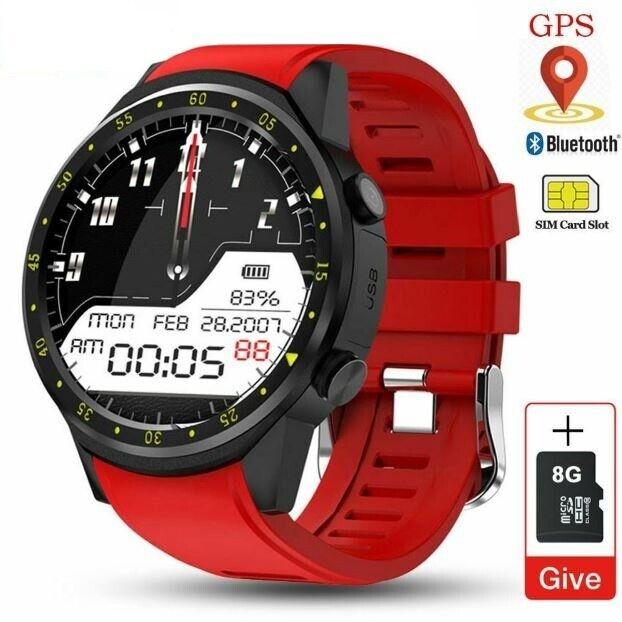 Men GPS Smart Watch Sim Card 8G Camera Heart Rate Sport Watc