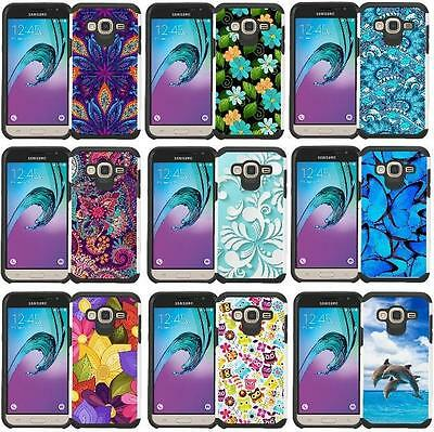 - Slim Hybrid Armor Case Design Cover for LG Escape 2 / Logos / LG Spirit (2015)