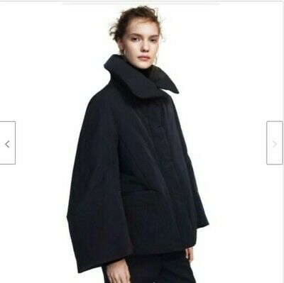 UNIQLO Women +J Jil Sander Hybrid Down Jacket Navy M Size NEW