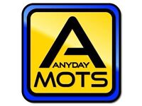 MOT TESTS from £24.99 (free retest within 10 working days)