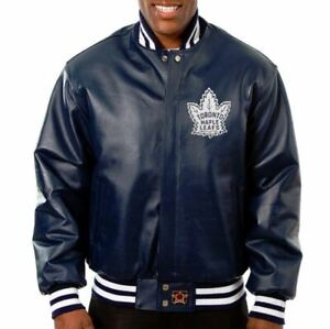 Toronto Maple Leafs JH Design Alternate Logo Jacket - Navy