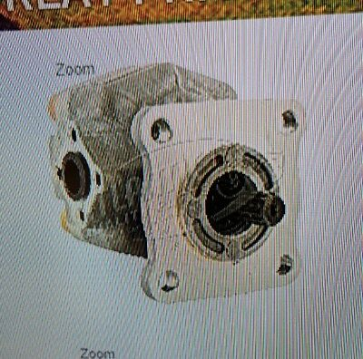 Sba340450490 Sba34045091 New Holland Tractor Hydraulic Pump