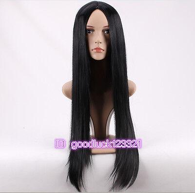 Pocahontas Wigs (Pocahontas Indian princess Pocahontas  black long straight cosplay wig+a wig)