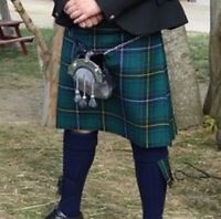 Scottish kilt and Sporran