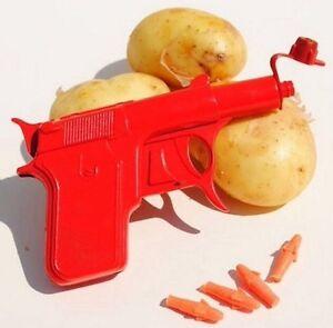 Spud-Gun-Metal-Die-Cast-Retro-Gun-Potato-Water-Pistol-Toy-Gun-Dressing-Costume