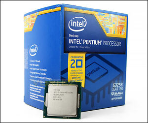 PENTIUM G3258 ANNIVERSARY CPU - Can overclock to 4.6ghz at 1.28v