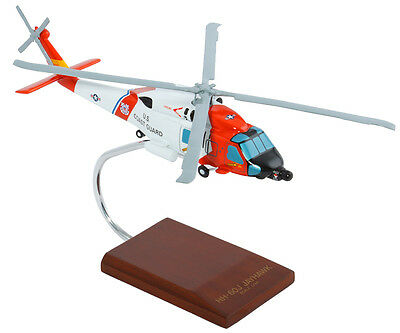 Coast Guard Sikorsky Hh 60J Jayhawk Desk Display Model 1 48 Huey Es Helicopter