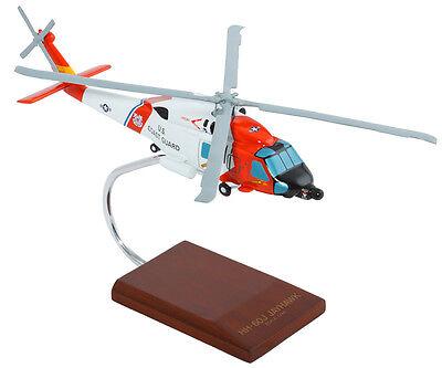 Coast Guard Sikorsky Hh 60J Jayhawk Desk Display Model 1 48 Huey Es Helicopter