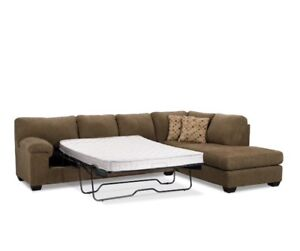 Microfibre Sofabed Sectional