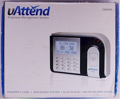 New Uattend Cb1000 Employee Management System Web Based Time Clock