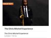 The Chris Mitchell Experience x2 tickets