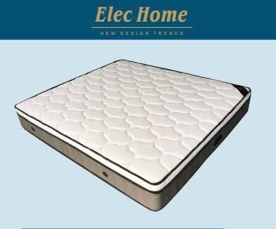 New Luxury Latex Eurotop 7 Zone Pocket Spring Mattress D/K