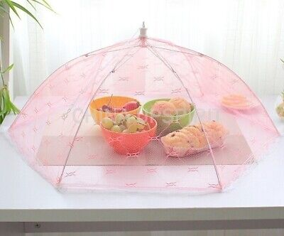 Food Covers Anti Fly Mosquito Meal Cover Home Kitchen Gadgets Tools Random Color