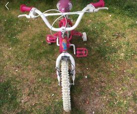 Barbie bike & helmet