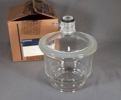 Corning Pyrex 160 Mm Glass Desiccator W Sleeve 3118