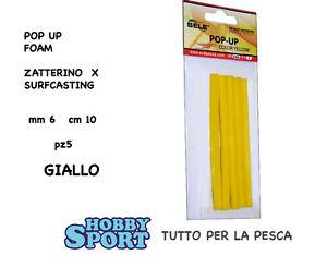 POP UP STICK FOAM PER ZATTERINO SURF mm 6 COL. GIALLO - Frosinone, Italia - L'oggetto può essere restituito - Frosinone, Italia