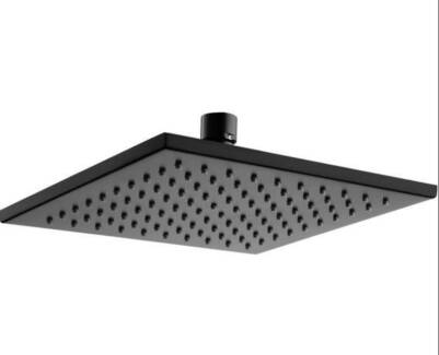250mm Monsoon Showers XL Square Chrome Shower Head – NEW | Building ...
