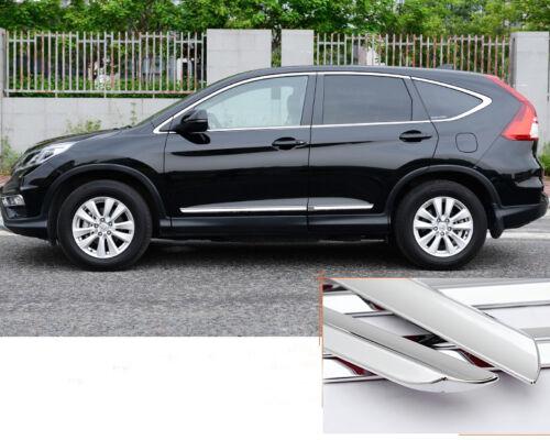 4x Chrome Body Side Molding Trim For Honda Crv Cr V 2012 2013 2014 2015 2016 Ebay
