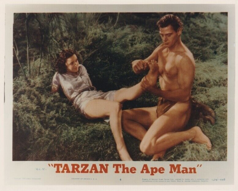 TARZAN COLOR REPRO from TARZAN THE APE MAN