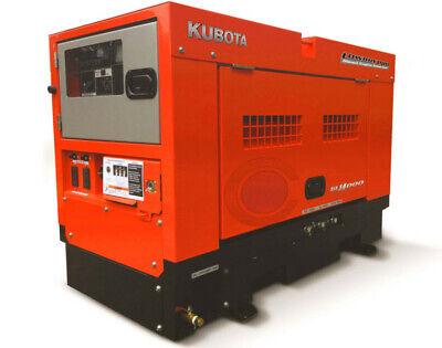 Brand New Kubota Gl14000 Lowboypro 14kw 14000 Watts Diesel Generator