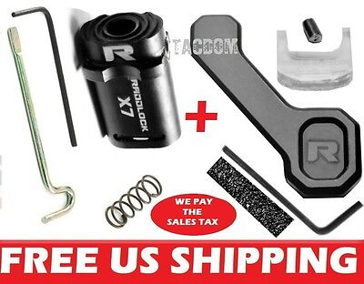 Authentic Raddlock Gen X7   Relock Fixed Magazine Black Lock Ca Mspec Combo Kit