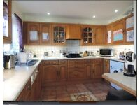 3 bedrooms, will suit small family or professional couple.Plenty space and privacy in detached home.