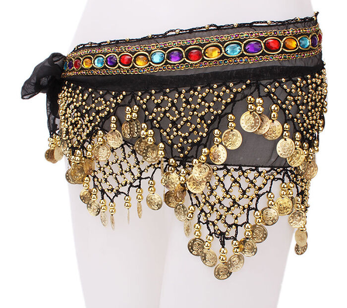 Beaded Hip Scarves