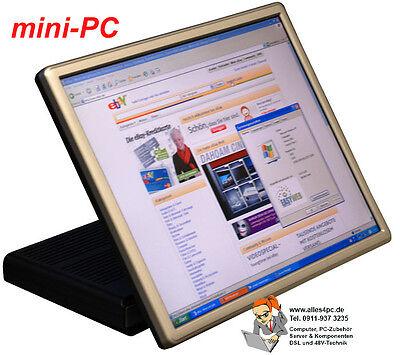 virenfre! Silent! Alternative For Notebook Mini-PC Windows XP Embedded 43cmtft