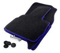 Tappetini Bmw X5 E53 Premium Velour Nero Oiginale Adattabile Profilo Blu -  - ebay.it