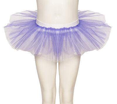 Lila & Weiß Tutu Rock Tanz Ballett Halloween Kostüm Katz Alle Größen ()