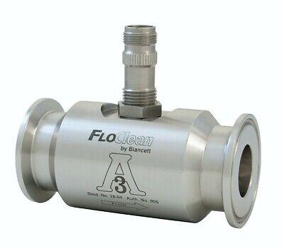 Floclean Sanitary Turbine Flow Meter B16d