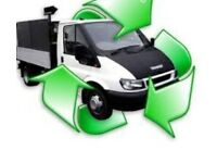 WASTE & RUBBISH REMOVAL SAME DAY SERVICE MAN AND VAN SKIP HOUSE CLEARANCES JUNK MANCHESTER