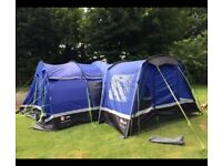 Kalahari 10 used only a few times comes with porch ideal for extra room it has 1 repaired pole