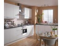 7 Piece Kitchen Units - White Matt - BRAND NEW