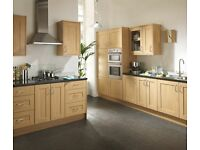 7 Piece Kitchen Units - Oak Shaker -BRAND NEW