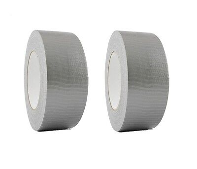 2 Rolls Silver Duct Tape 2 X 60 Yd Utility Grade Duct Tape Free Shipping