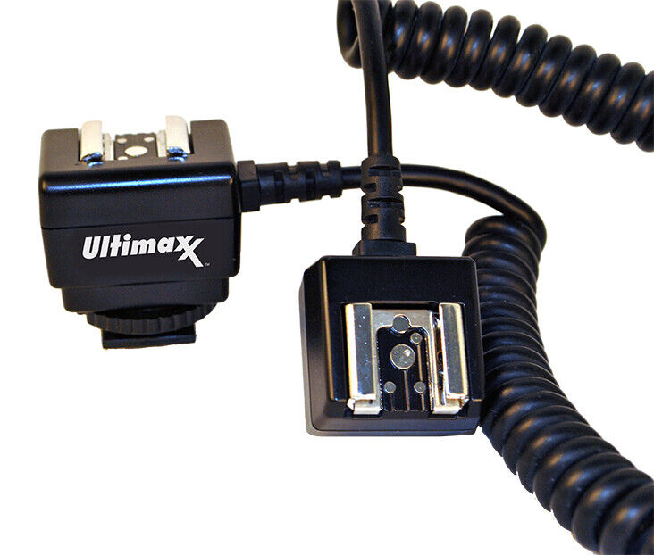 Professional TTL Off Camera Hot Shoe Flash Sync Cable Cord for Canon DSLRs