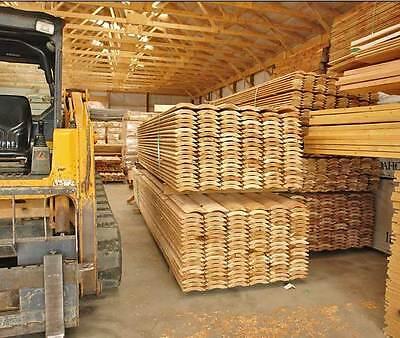 2x8 Ship Lap Western Cedar Log Siding Cabin Grade- We Ship Free Samples