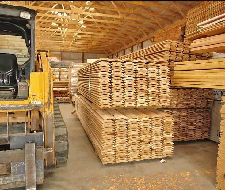 2x8 Ship Lap Ponderosa Pine Log Siding - WE SHIP FREE SAMPLES