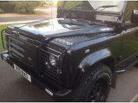 2006 LAND ROVER DEFENDER 90 TD5 XS BLACK TwistedEdition