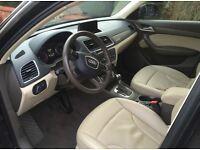 Left hand drive Q3 2.0 petrol, auto