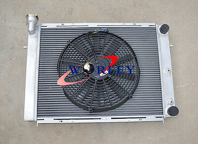 All Aluminum Radiator for HOLDEN COMMODORE VL RB30 L6 ATMT 42cm  Fan