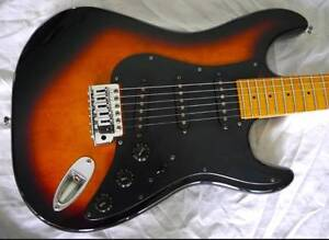 Aria Pro II Mad Axe ST-01-3S/SB (Strat-type) ...will post oz-wide Redlynch Cairns City Preview