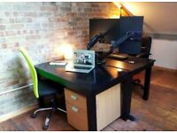 MYS Dedicated Desk | Workspace | Creative Space | Co-working Office | Warehouse Style | Wimbledon