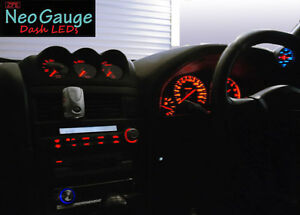 ZPE RED Dash LED kit To Suit Nissan Skyline R34 & Stagea C34 GTt GTR 25GT