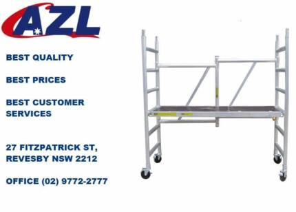 Brand New Aluminium Mobile Scaffold with 2m High is on SALE NOW!
